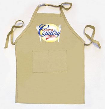 Larry's Country Diner Apron - Product details