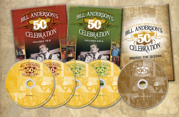 Bill Anderson 50th Anniversary - Product details
