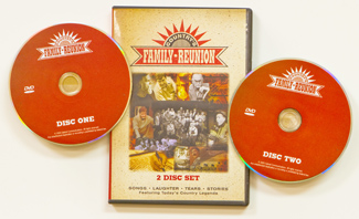 Country's Family Reunion - One DVD