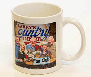 Larry's Country Diner Photo Mug - Product details