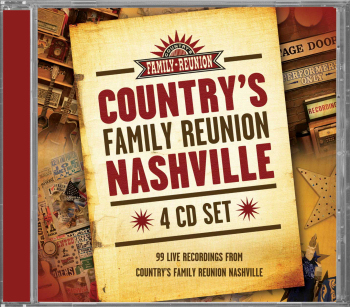 Country's Family Reunion Nashville CD Set